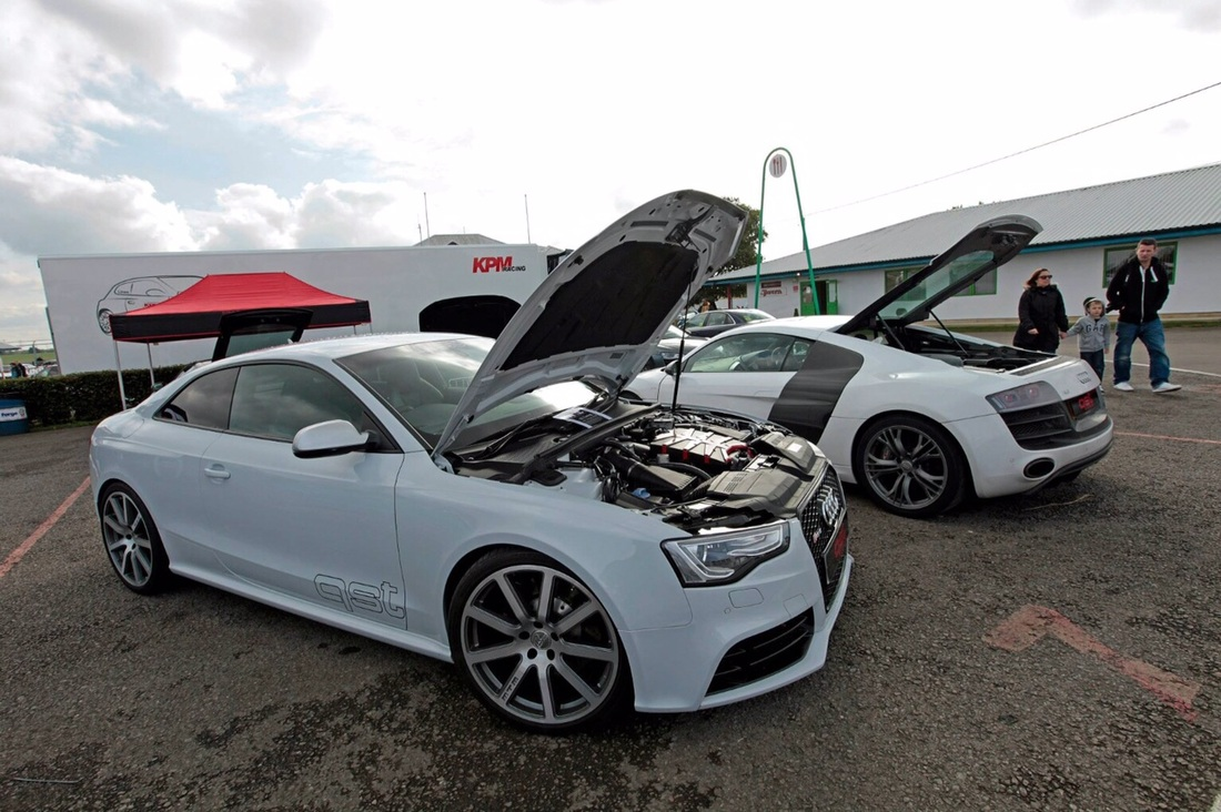 Supercharged audi rs5